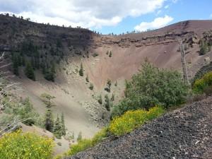 Bandera Volcano Crater